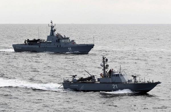 slovenska mornarica